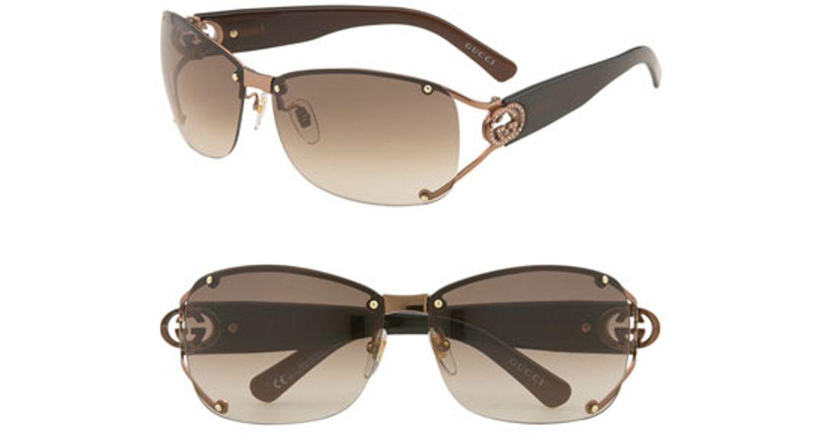 1492f481ba Gucci 62mm Open Temple Rimless Sunglasses « Heritage Malta