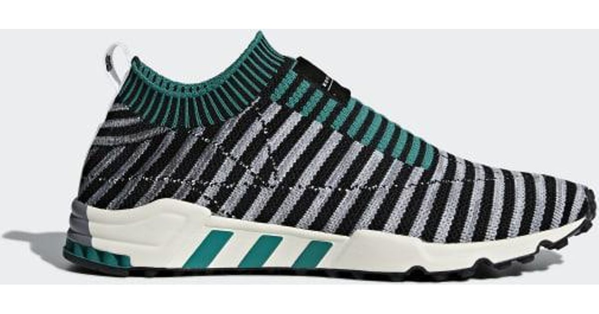 buy popular 11d74 a0b1f Lyst - adidas Eqt Support Sk Primeknit Shoes in Black