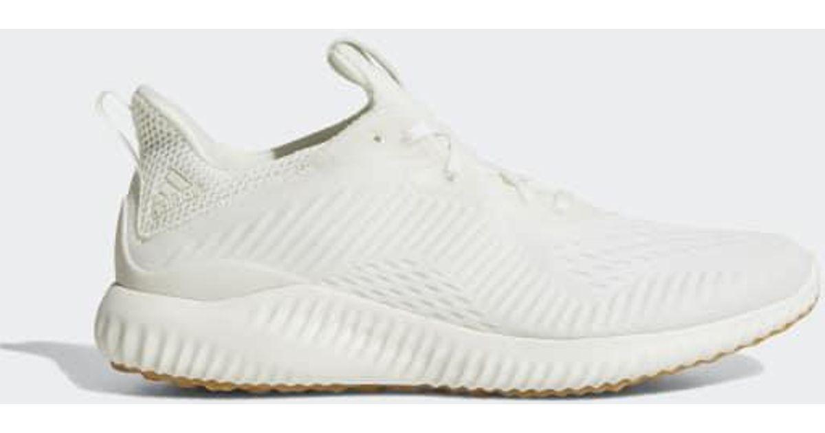 5f89079e31b6b Lyst - adidas Alphabounce Em Undye Shoes in White for Men