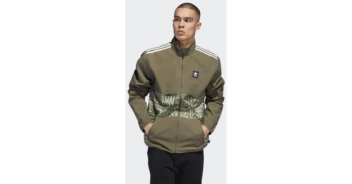 07e0f77016f adidas Dakari Class Action Jacket in Brown for Men - Lyst
