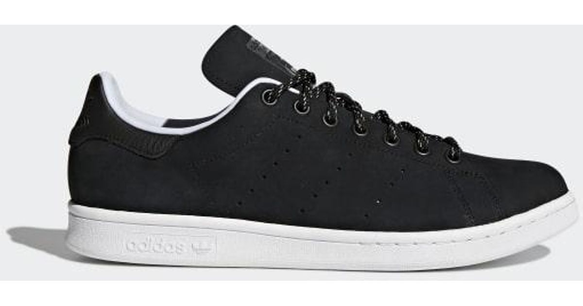 best sneakers 4725e bef90 Adidas Black Stan Smith Wp Shoes