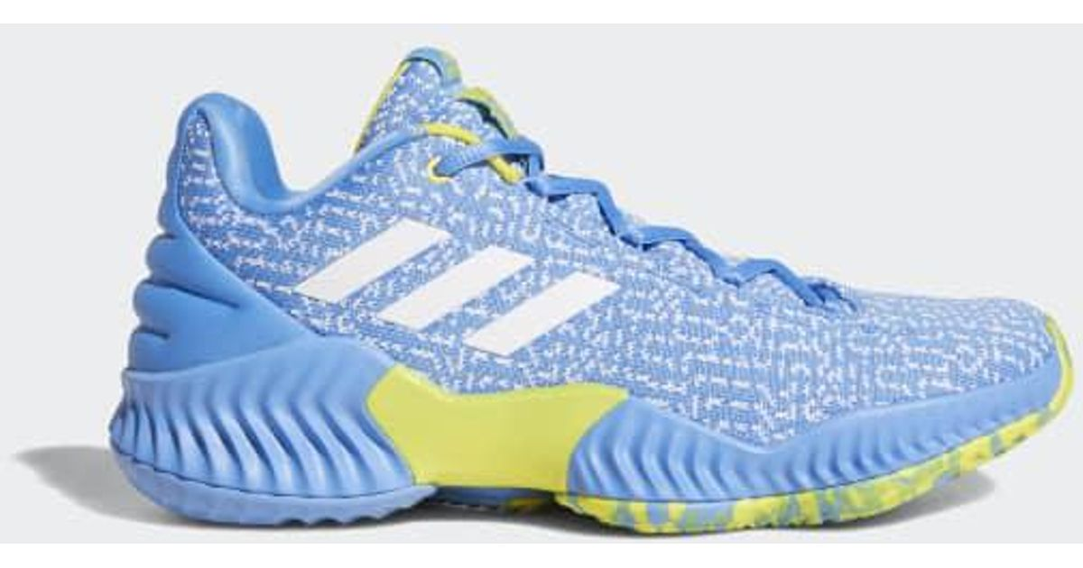 Adidas Blue Pro Bounce 2018 Player Edition Low Shoes for men