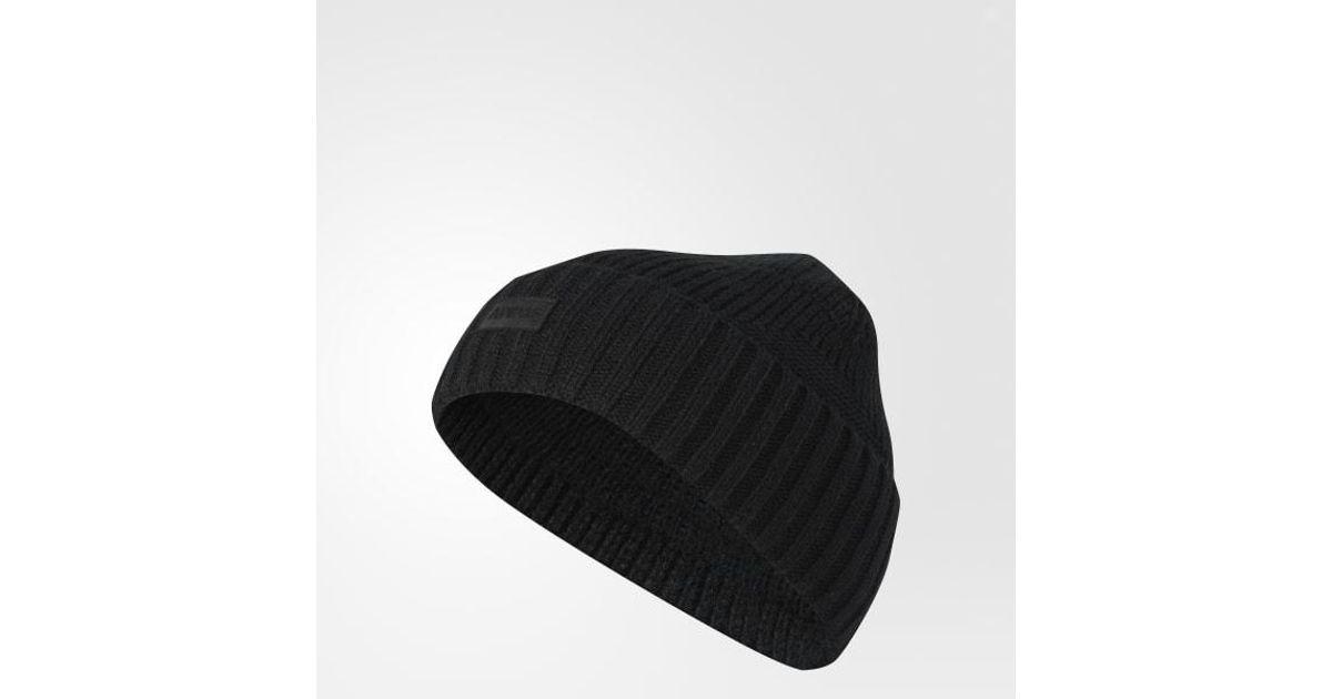 a0a07c91d Adidas Black Pine Knot Beanie for men