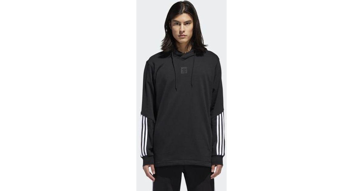 adidas cornered black hoodie off 51