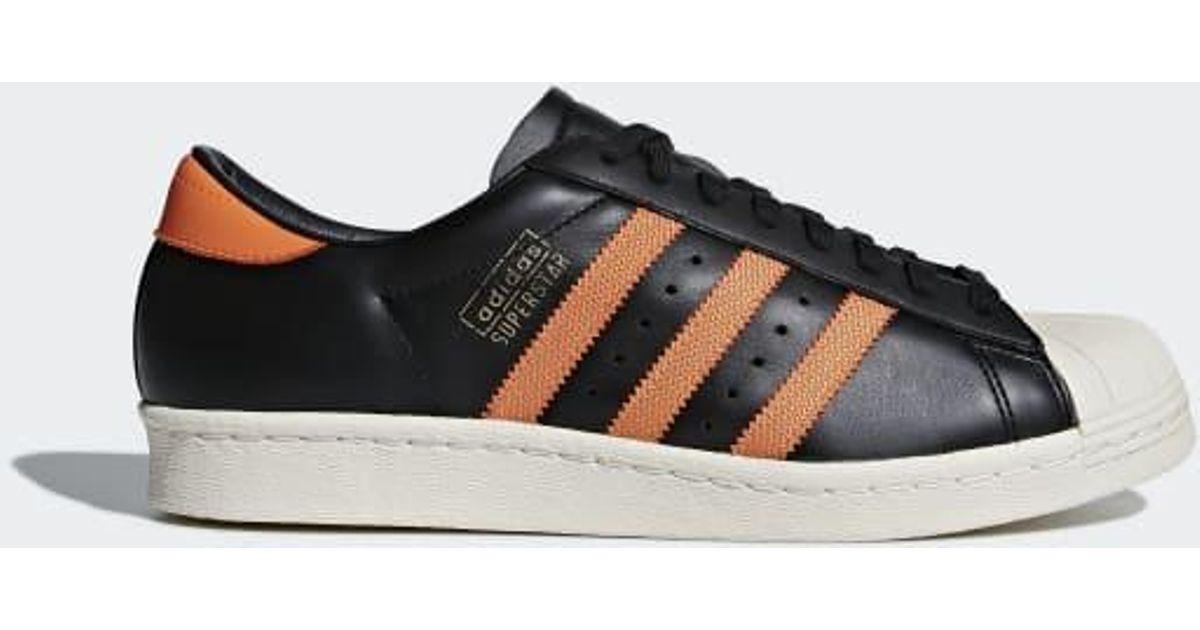 sale retailer 81bfd 898ff Adidas Black Superstar Og Shoes for men