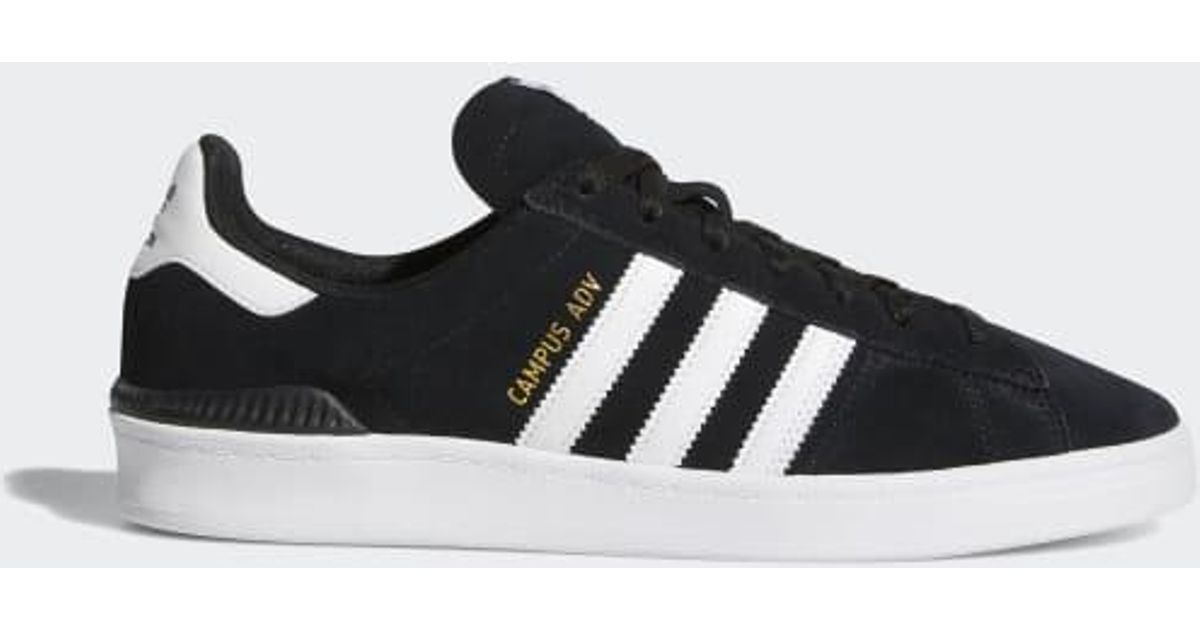 brand new 9b249 e8e70 Adidas Black Campus Adv Shoes