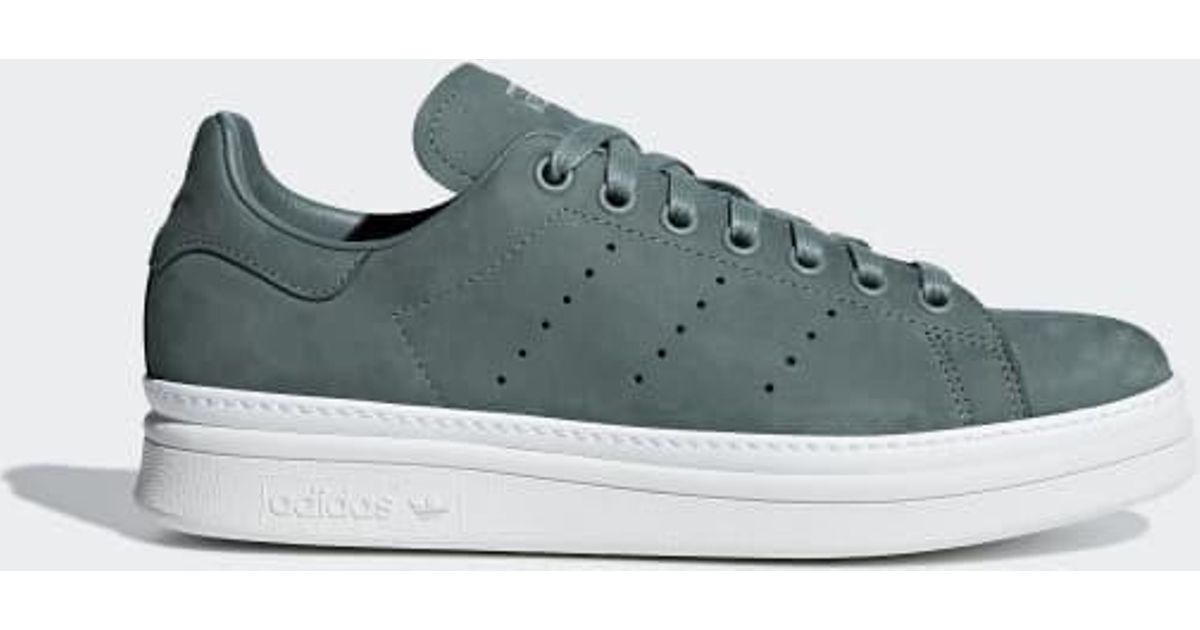 8b4f6151d371 Lyst - adidas Stan Smith New Bold Shoes in Green for Men