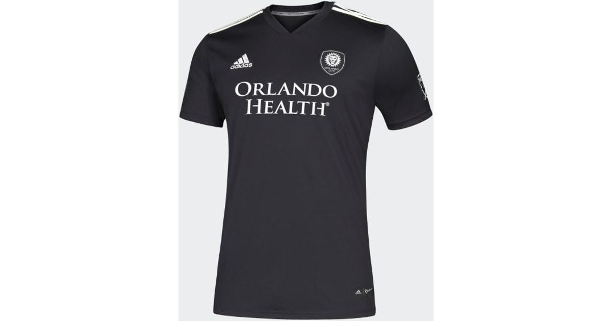 sports shoes d8714 62835 Adidas Black Orlando City Third Jersey for men