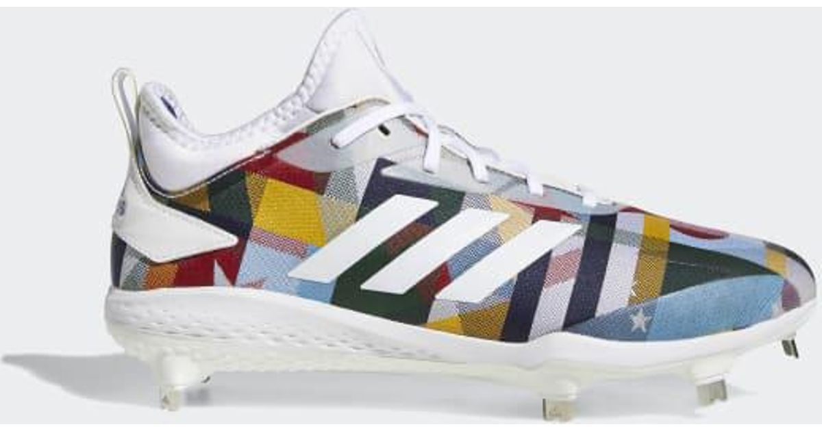 Lyst - adidas Adizero Afterburner V Nations Cleats in White for Men 33ca065f6f0