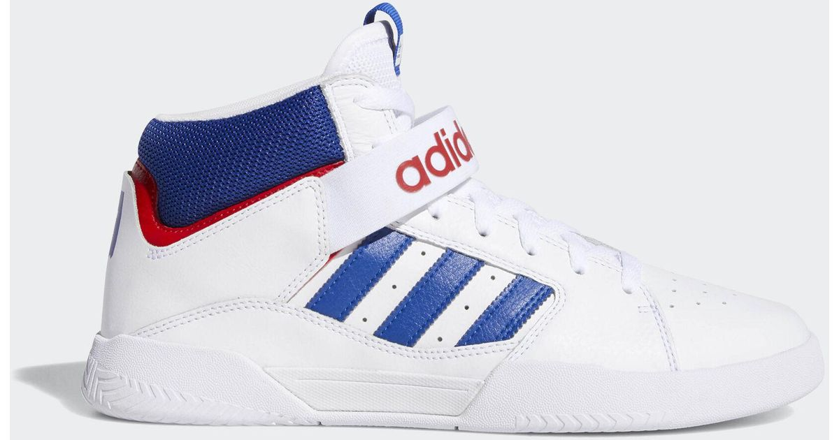 Adidas Originals White Vrx Cup Mid Shoes for men