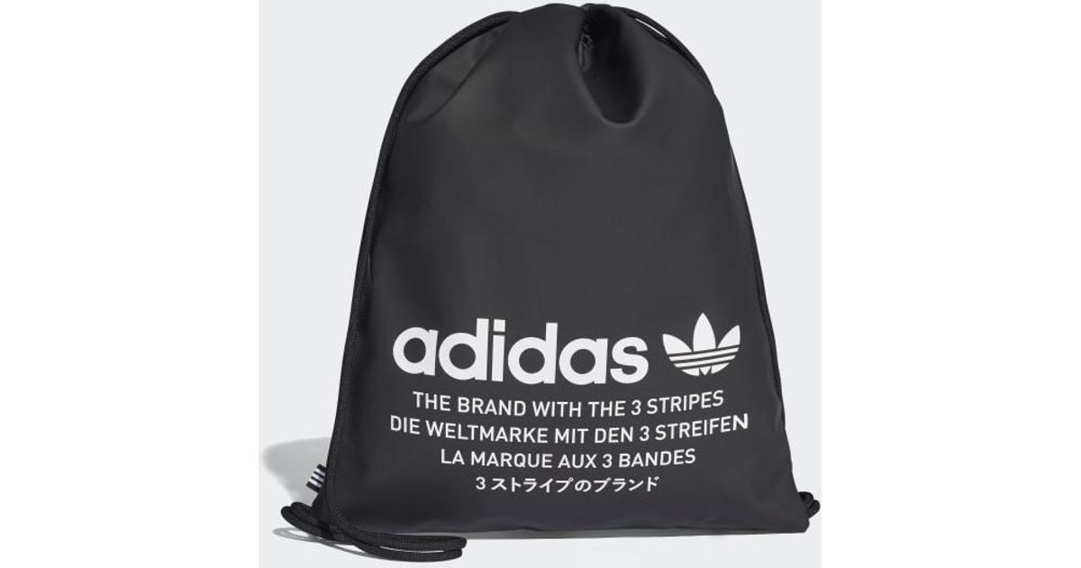 edc6f85fc8d adidas Nmd Gym Sack in Black for Men - Lyst
