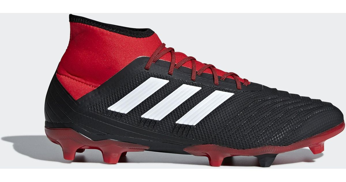 best sneakers 4b324 920e9 adidas Predator 18.2 Firm Ground Boots in Red for Men - Lyst