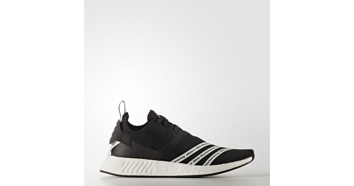sports shoes 8c857 9cb06 Adidas - Black White Mountaineering Nmd_r2 Shoes for Men - Lyst