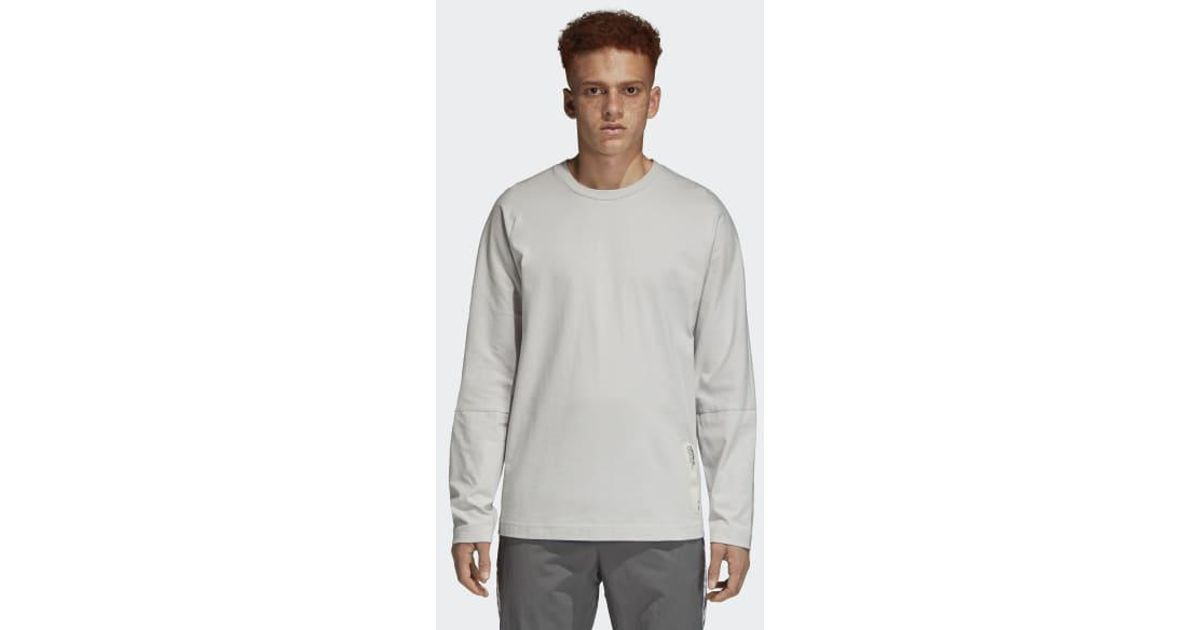 1f3b9b69 Lyst - adidas Nmd Tee in Gray for Men