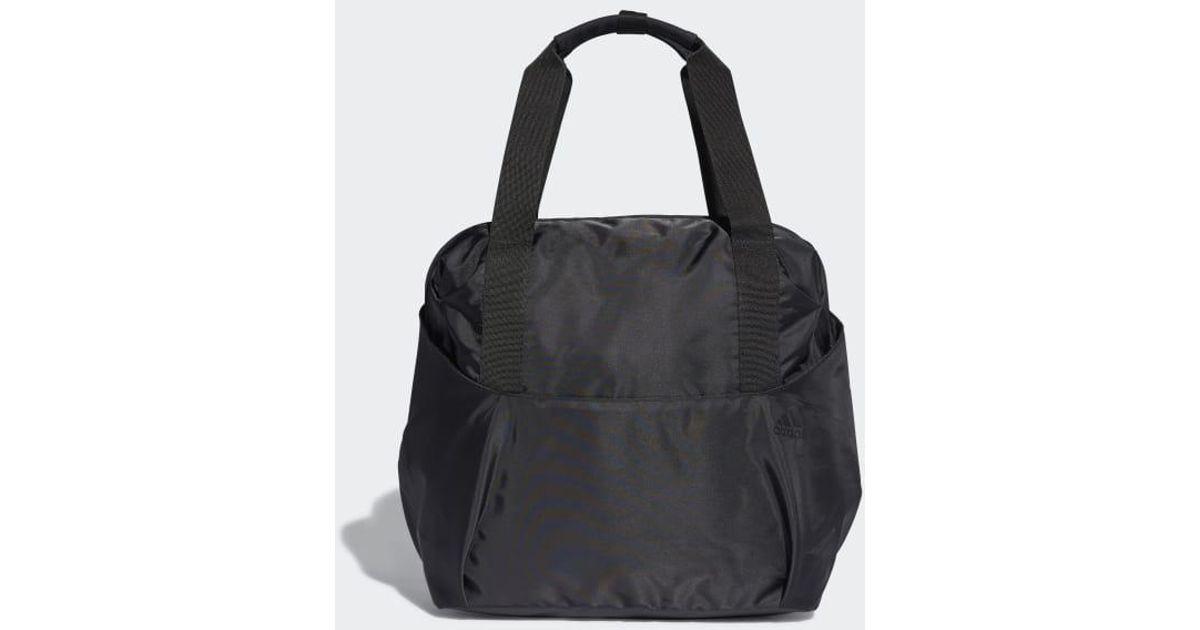 6ac173d842 Lyst - adidas Training Id Tote Bag in Black