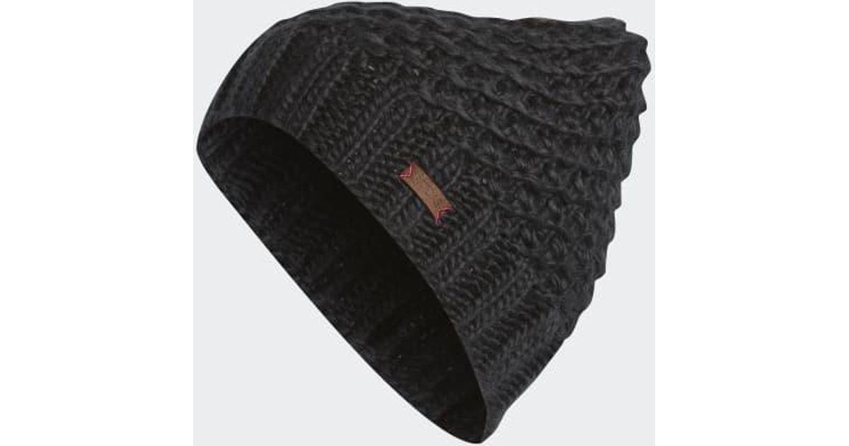 Lyst - adidas Whittier Beanie in Black 9994d9a8b8b3