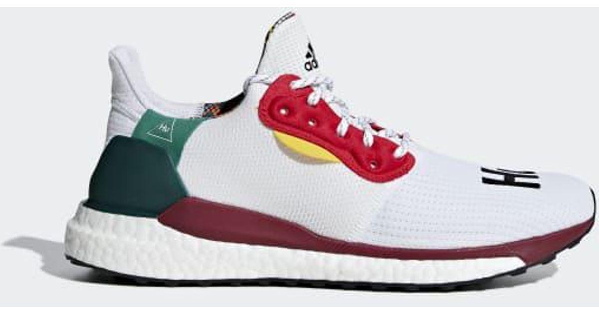 1c479047d Lyst - adidas Pharrell Williams X Solar Hu Glide Shoes in White for Men