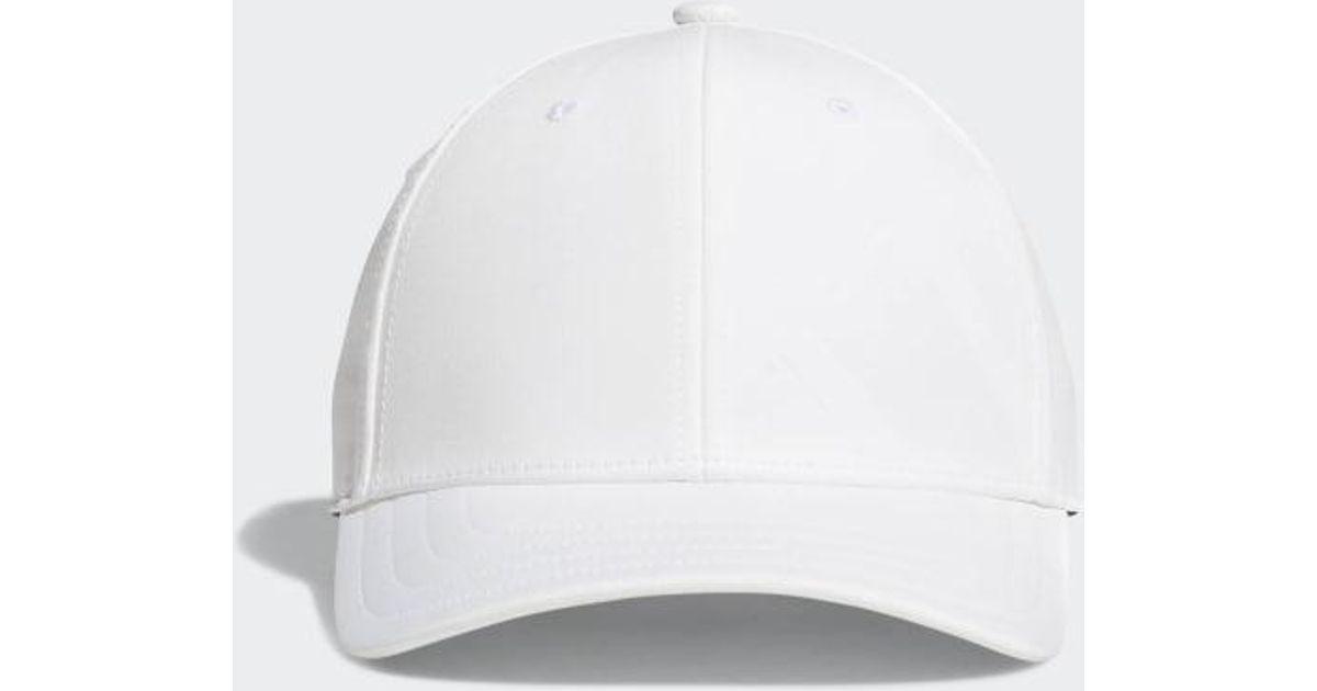 b1e23b71 adidas A-stretch Bold Stripe Cap in White for Men - Lyst