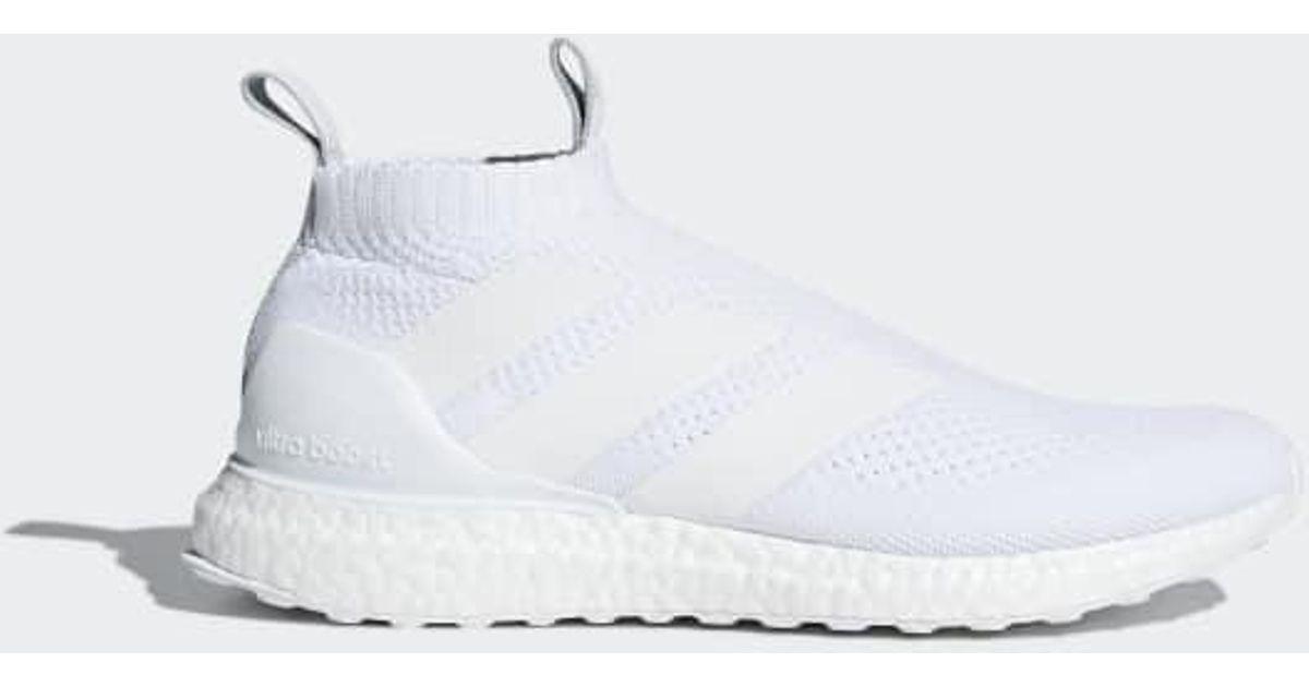 wholesale dealer e6708 331f5 Lyst - adidas A 16+ Purecontrol Ultraboost Shoes in White fo
