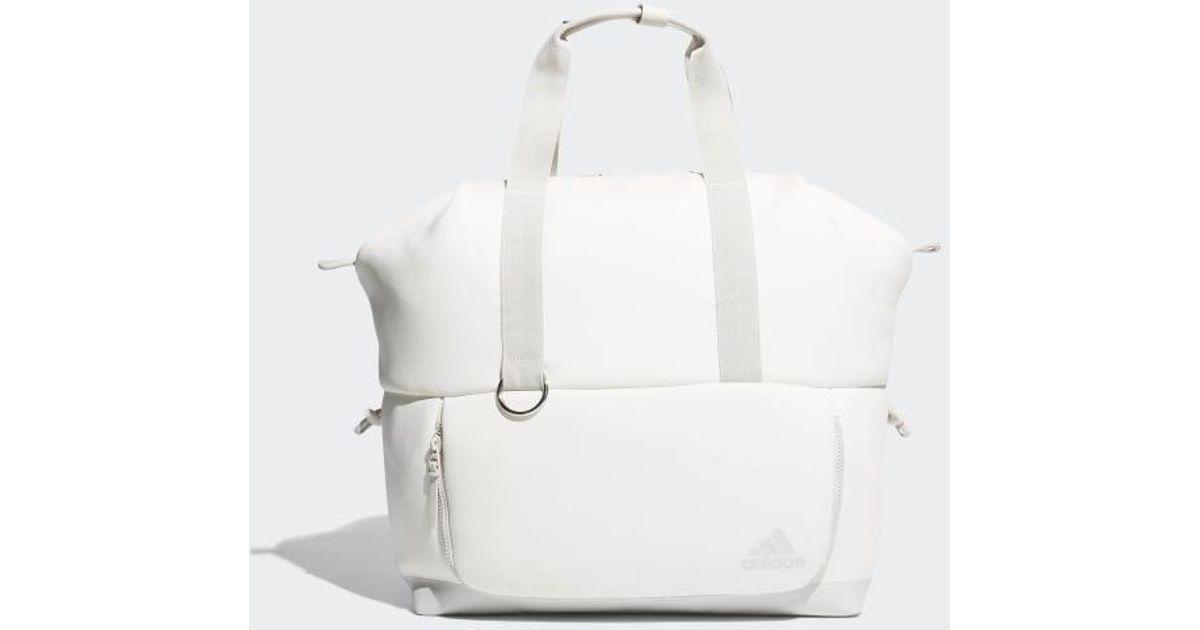 5425b3edb82 Lyst - adidas Favorite Tote Bag in White