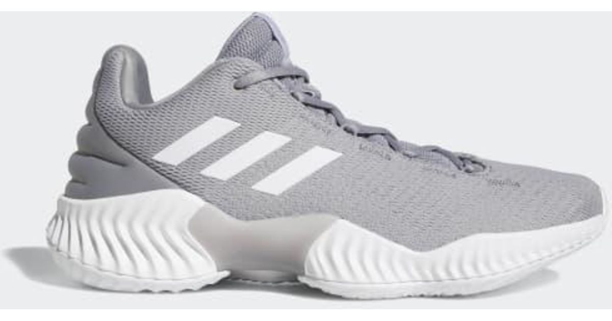 98589a2b1173 ... new arrivals f9407 a4aa7 Lyst - adidas Pro Bounce 2018 Low Shoes in Gray  for Men