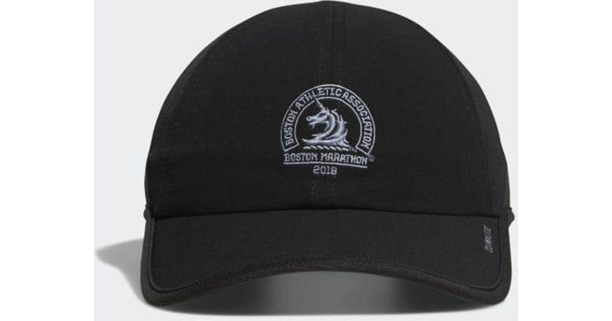 489d80eb70efe0 adidas Boston Marathon® Superlite Hat in Black for Men - Lyst