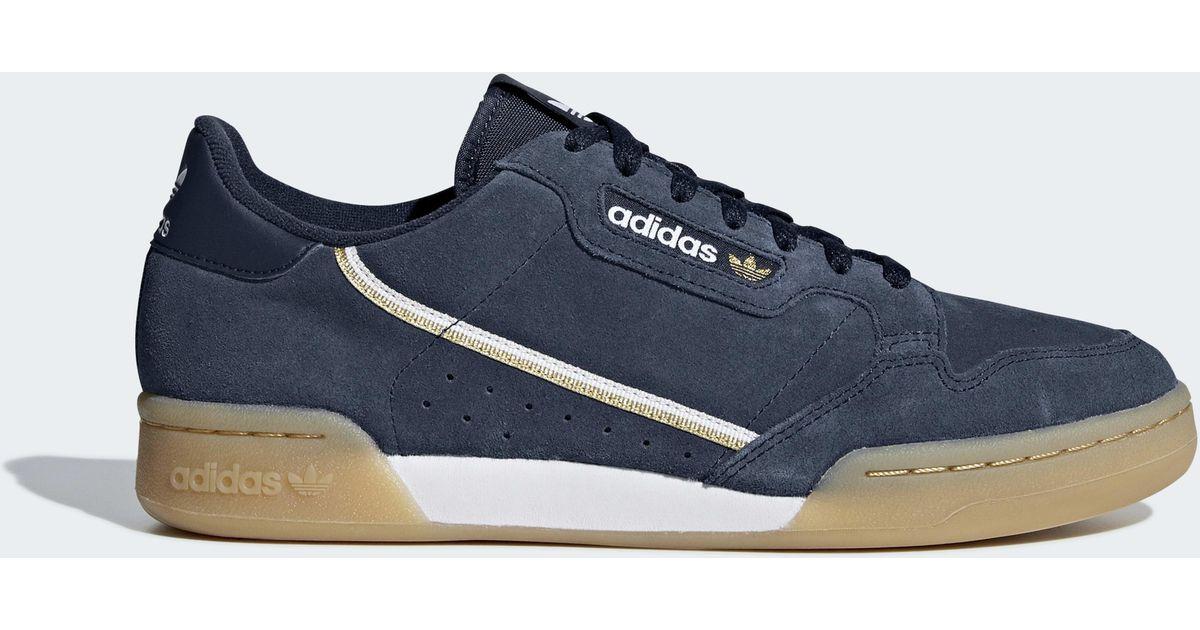 Blue Schuh Blue 80 Continental Continental Adidas Adidas IE9D2H
