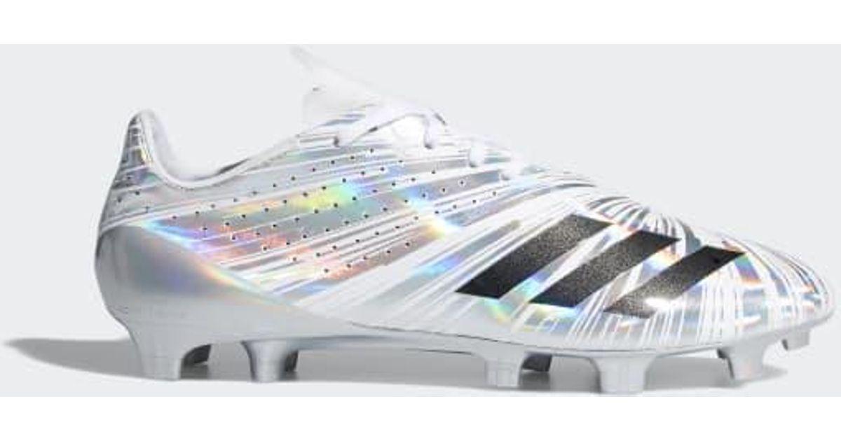 adidas Adizero 5-star 40 in Silver