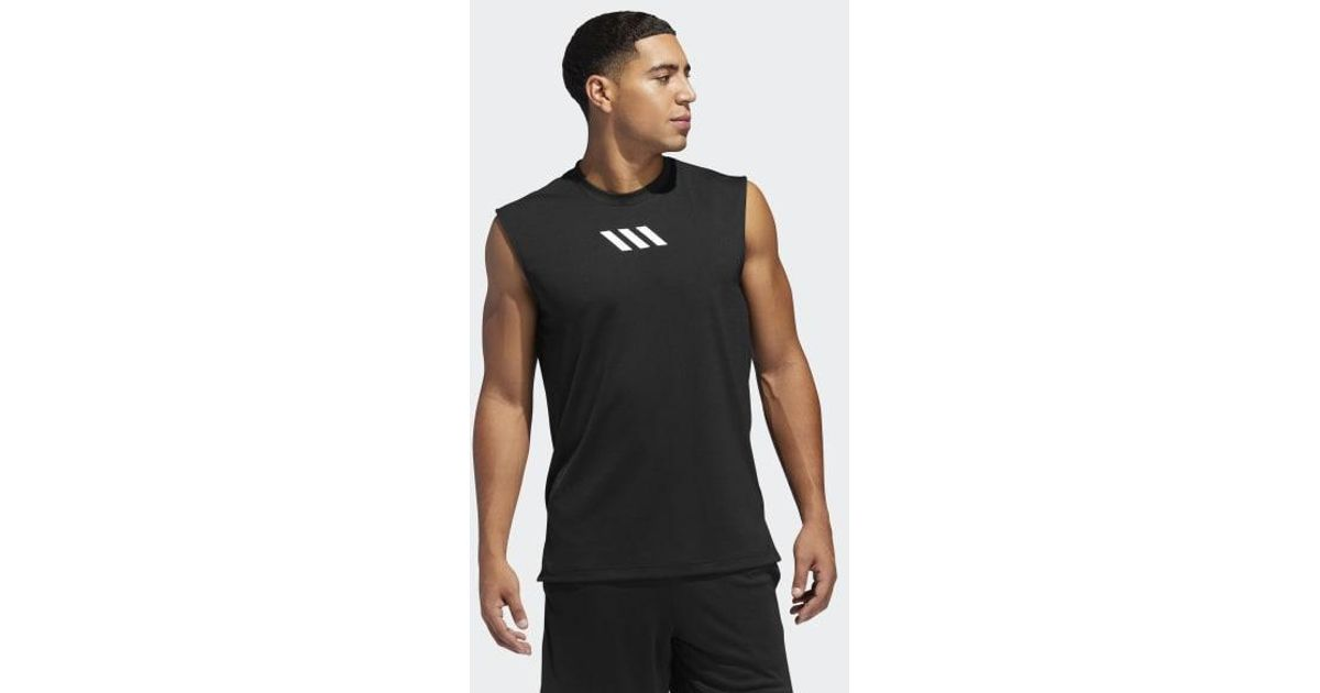 acc0c28e8 adidas Pro Madness Tank Top in Black for Men - Lyst