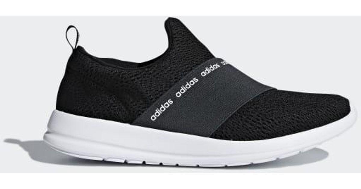 levantar Opinión La Iglesia  adidas Cloudfoam Refine Adapt Shoes in Black - Lyst