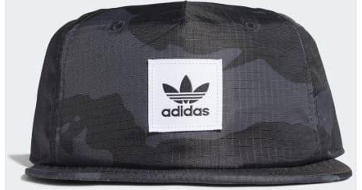 b934d7356 Adidas Black Street Camo Grandad Hat for men