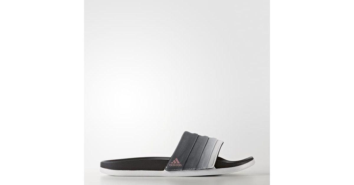 79d327504f3e9 Lyst - adidas Adilette Cloudfoam Ultra Armad Slides in Black for Men