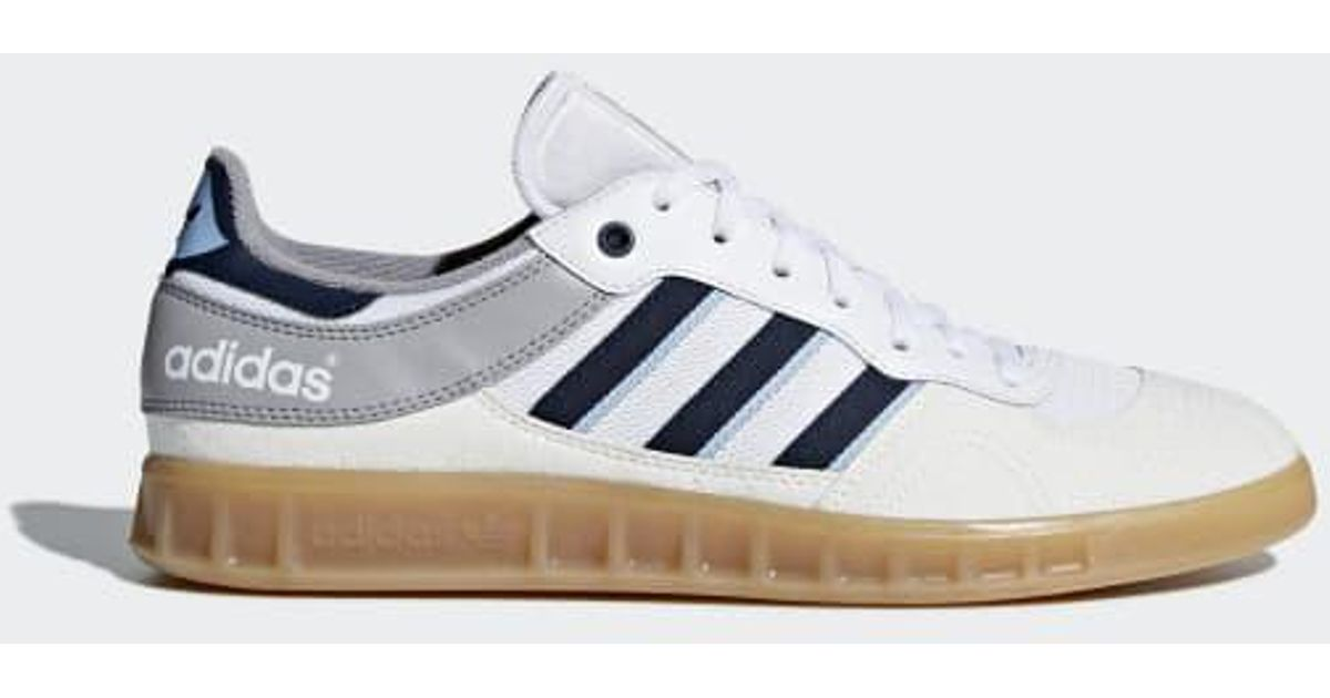 f78e4eabea969 ... get lyst adidas handball top mesh shoes in white for men 1bc74 4443a