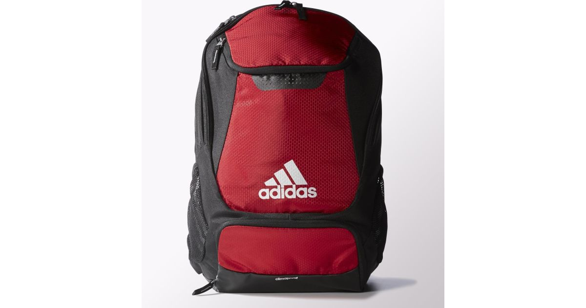 ef4d9e889 adidas Stadium Team Backpack in Red for Men - Lyst