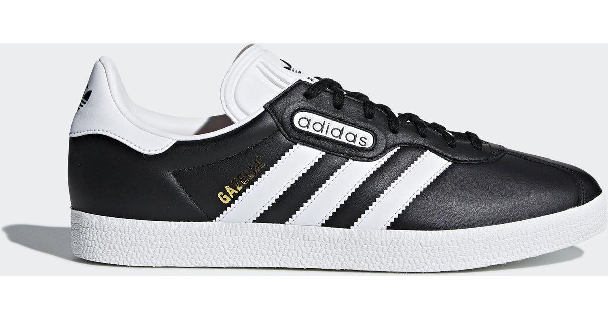 Adidas Black World Cup Gazelle Super Essential Shoes Lyst