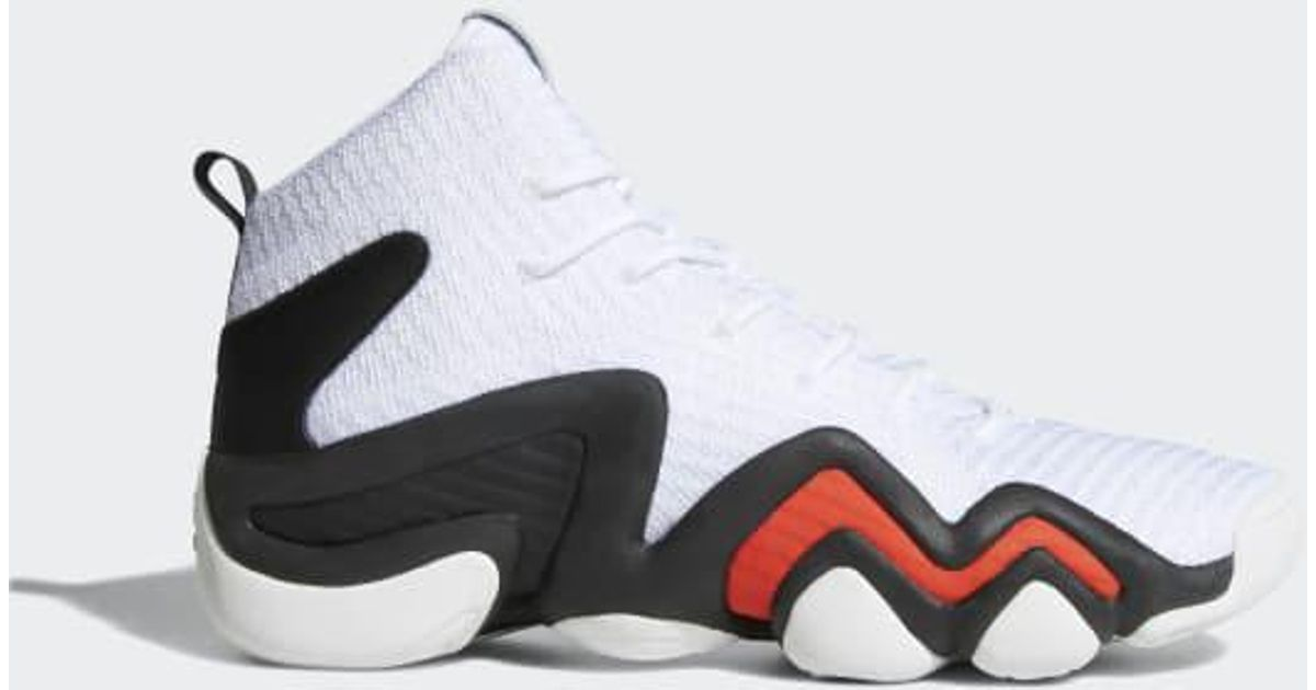 online store ec3f8 fa5dc Lyst - adidas Crazy 8 Adv Primeknit Shoes in White