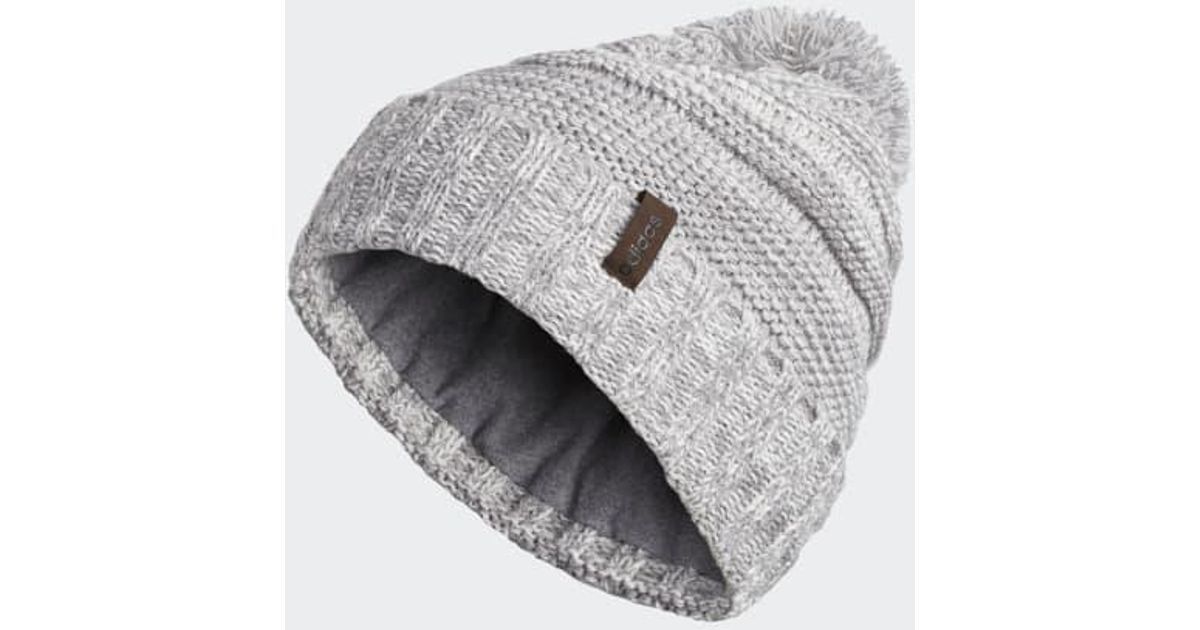 0b8c6aabfb4 Lyst - adidas Recon Beanie in Gray for Men