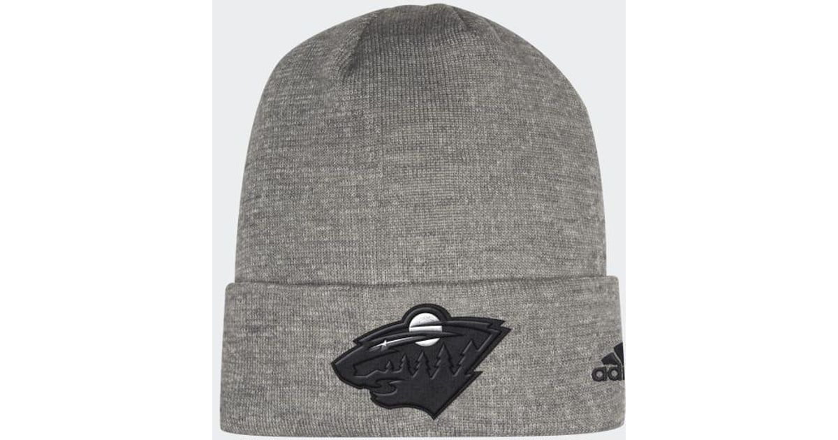 85343bacdbc Lyst - Adidas Wild Team Cuffed Beanie in Gray for Men