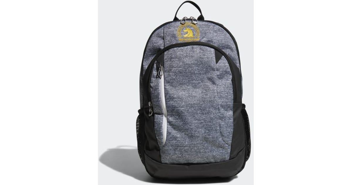 Lyst - adidas Boston Marathon® Mission Ii Backpack in Gray for Men b8cd2521bed43