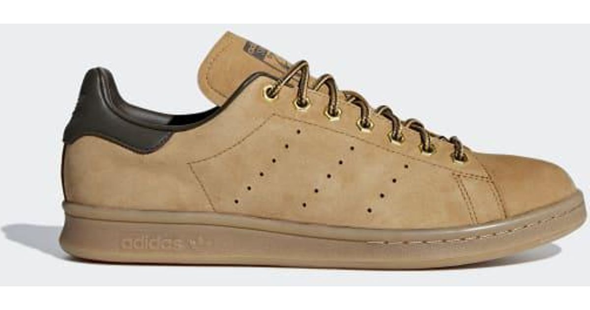 Adidas Brown Stan Smith Wp Shoes