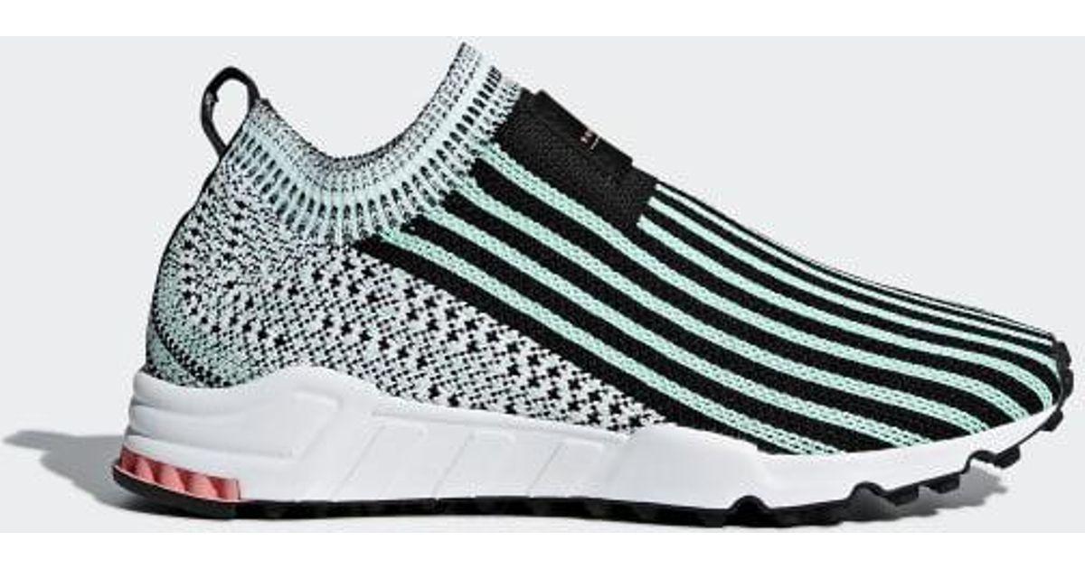 075018ce0de86 Lyst - adidas Eqt Support Sock Primeknit Shoes in Black