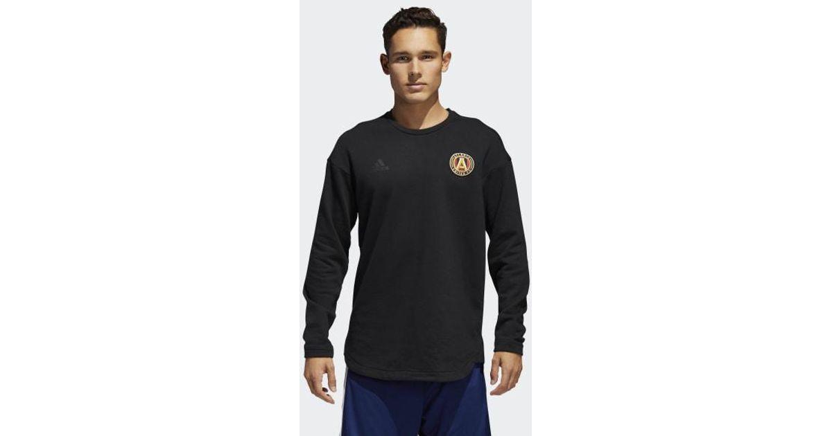 114b8f2bc5 Adidas Black Atlanta United Fc Tango Futures Sweat Jersey for men