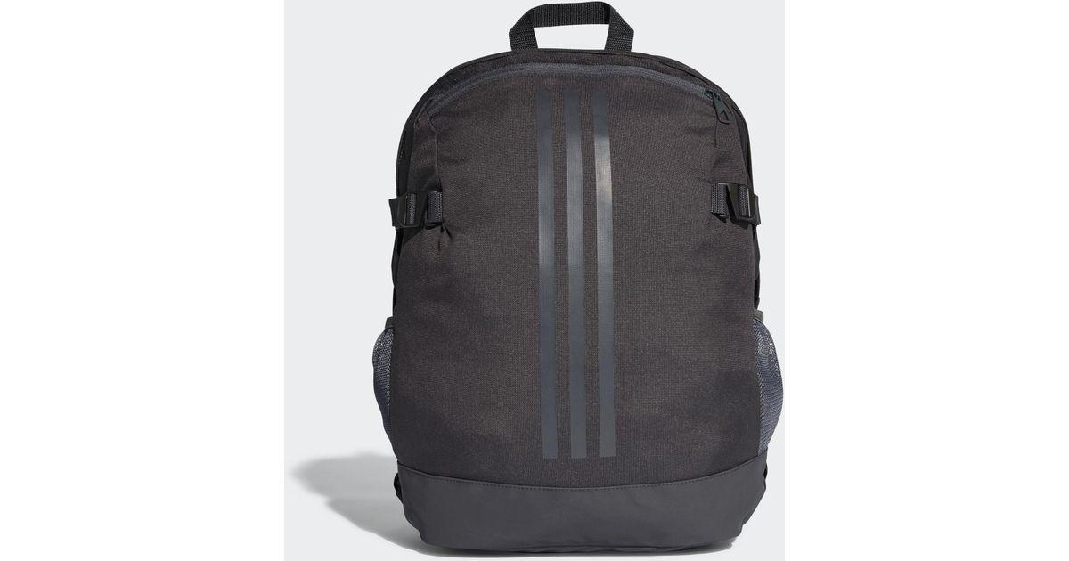 c98107e51122 Lyst - adidas 3-stripes Power Backpack Medium in Black for Men