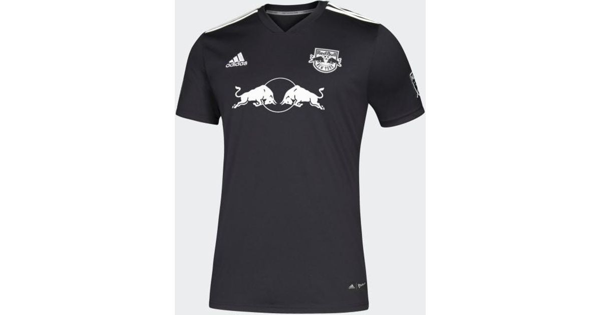 quality design c0b78 e69ec Adidas Black New York Red Bulls Parley Jersey for men