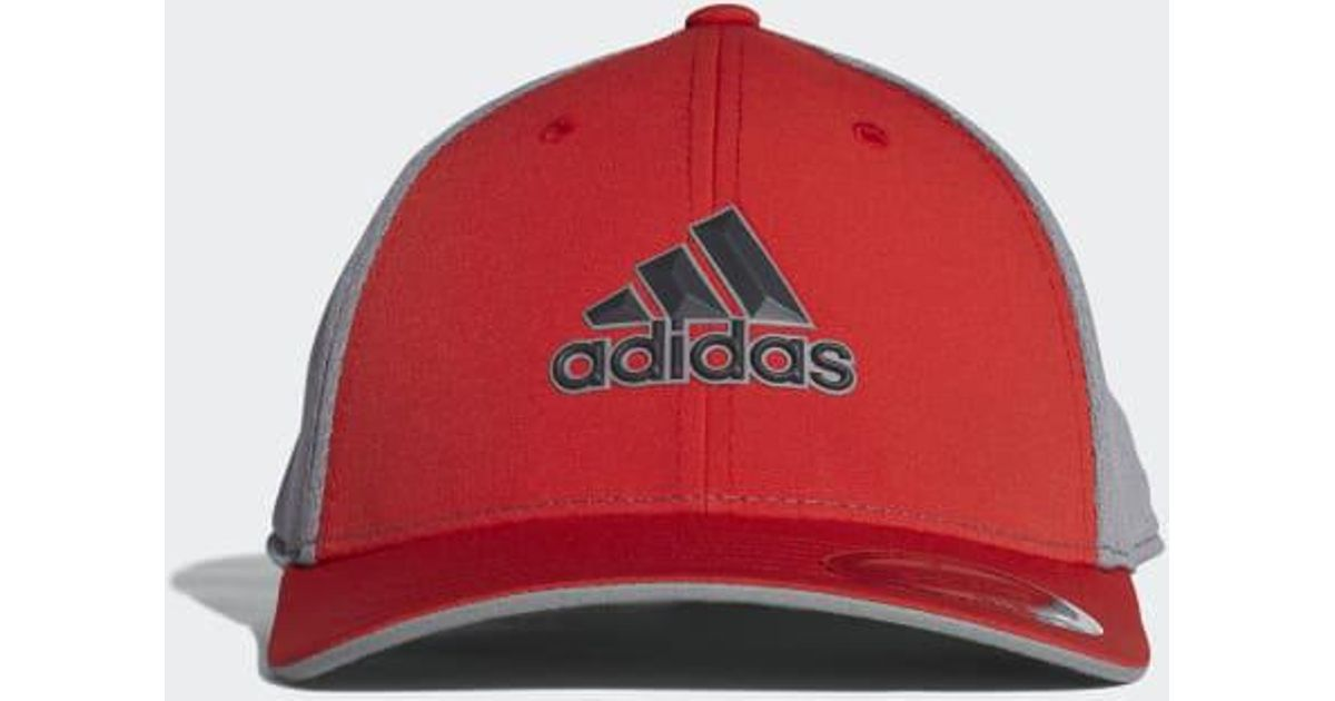 e00d73a49f99 Lyst - adidas Climacool Tour Cap in Red for Men