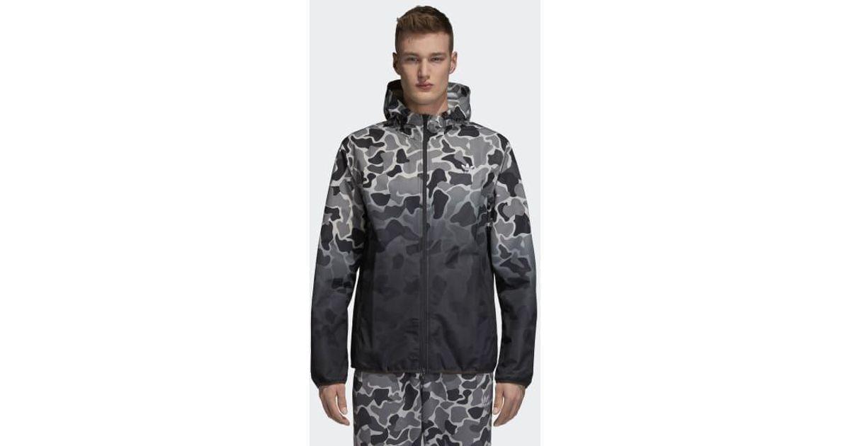 Adidas Camouflage Windbreaker für Herren | camouflage, multicolor