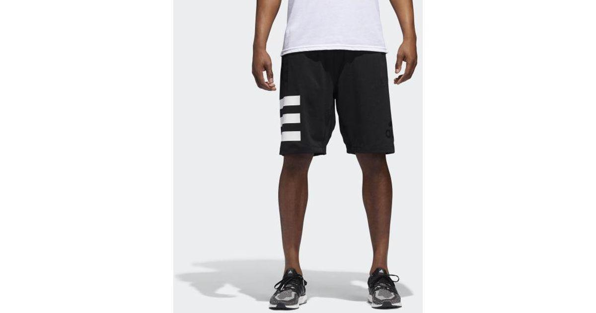 2bd77c20cd Adidas Black Speedbreaker Hype Icon Shorts for men