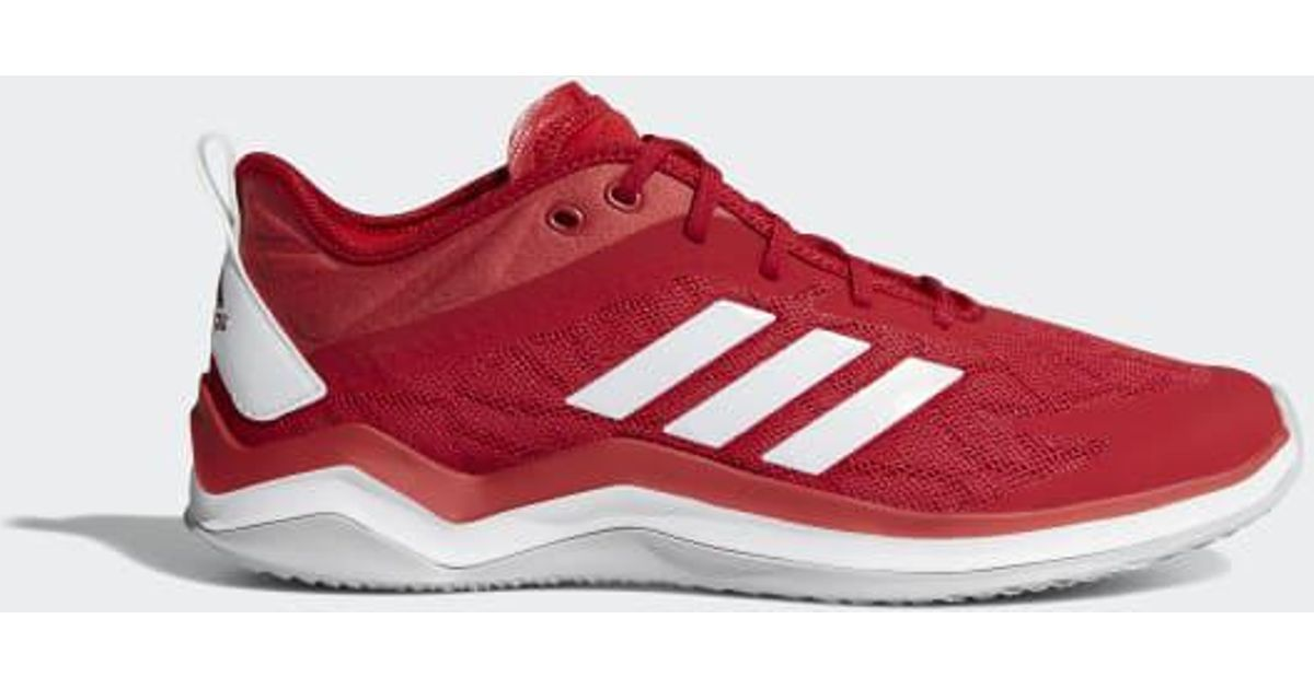 Lyst - adidas Speed Trainer 4 Shoes in Red for Men - Save 31% c2137a65b