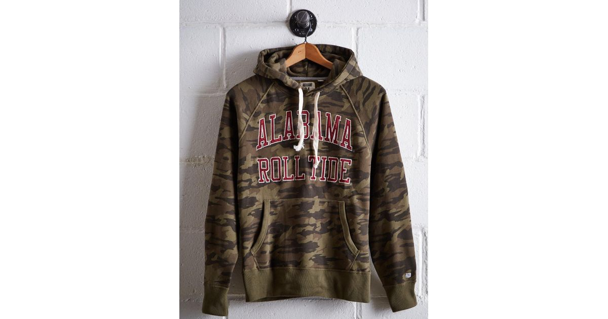 3360a69104 Lyst - Tailgate Men s Alabama Camo Hoodie in Green for Men