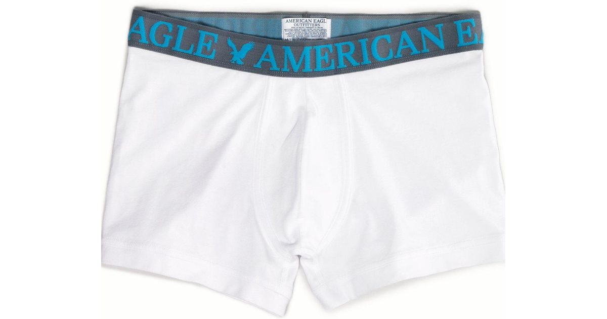 9bcfe7ec66ce American Eagle Ae Low Rise Trunk in White for Men - Lyst